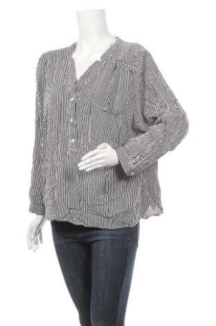 Γυναικεία μπλούζα Zizzi, Μέγεθος 3XL, Χρώμα Μαύρο, Βισκόζη, Τιμή 6,17€