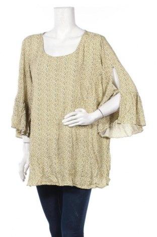 Γυναικεία μπλούζα Zizzi, Μέγεθος XXL, Χρώμα Πολύχρωμο, Βισκόζη, Τιμή 9,35€
