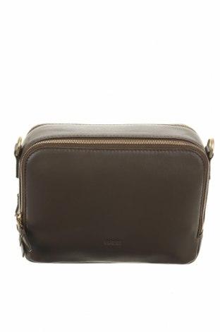 Дамска чанта Bree, Цвят Зелен, Естествена кожа, Цена 123,37лв.