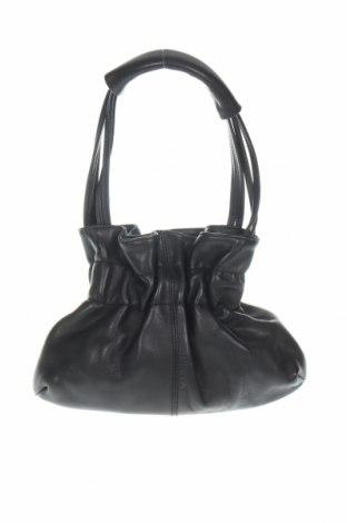 Дамска чанта Furla, Цвят Черен, Естествена кожа, Цена 106,64лв.