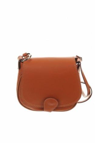 Γυναικεία τσάντα Ore10, Χρώμα Καφέ, Γνήσιο δέρμα, Τιμή 29,40€