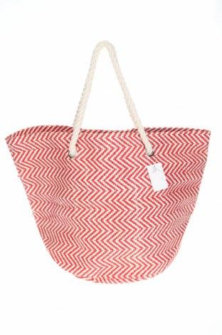 Дамска чанта Reserved, Цвят Червен, Други тъкани, текстил, Цена 26,95лв.