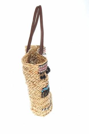 Чанта Reserved, Цвят Бежов, Други тъкани, текстил, еко кожа, Цена 30,75лв.