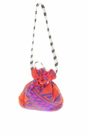 Дамска чанта Reserved, Цвят Многоцветен, Текстил, Цена 24,00лв.