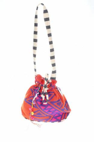 Дамска чанта Reserved, Цвят Многоцветен, Текстил, Цена 18,72лв.