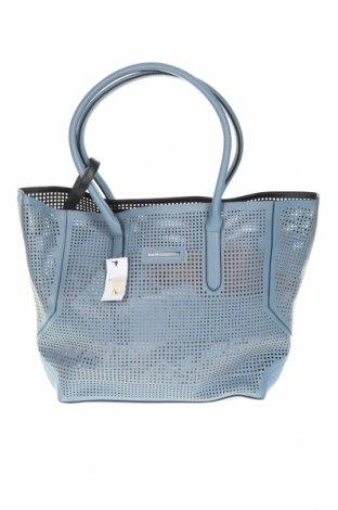 Γυναικεία τσάντα Reserved, Χρώμα Μπλέ, Δερματίνη, Τιμή 22,73€