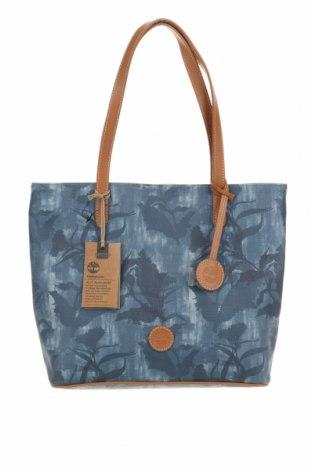 Дамска чанта Timberland, Цвят Син, Еко кожа, естествена кожа, Цена 87,60лв.