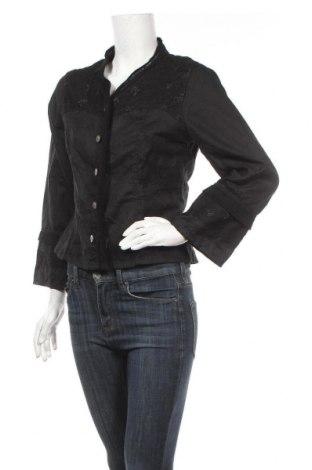 Γυναικεία ζακέτα Carla Du Nord, Μέγεθος S, Χρώμα Μαύρο, 55% ραμί, 45% πολυεστέρας, Τιμή 9,29€