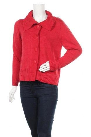Дамска жилетка Carroll Reed, Размер S, Цвят Червен, 55% памук, 45% акрил, Цена 6,56лв.
