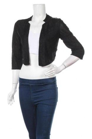 Дамска жилетка H&M, Размер M, Цвят Черен, 54% полиестер, 46% полиамид, Цена 5,55лв.