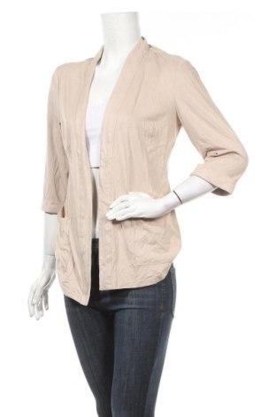 Дамска жилетка Jacqueline De Yong, Размер M, Цвят Бежов, 90% полиестер, 10% еластан, Цена 7,64лв.