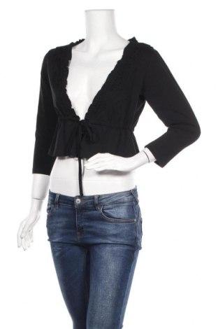 Γυναικεία ζακέτα Nu By Staff Woman, Μέγεθος M, Χρώμα Μαύρο, 94% βαμβάκι, 6% ελαστάνη, Τιμή 10,72€