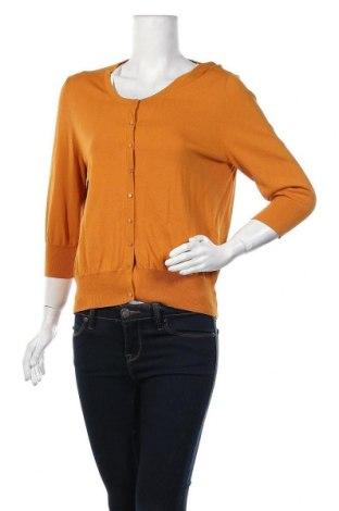 Γυναικεία ζακέτα Promiss, Μέγεθος XL, Χρώμα Κίτρινο, 63% βισκόζη, 37% πολυαμίδη, Τιμή 10,72€