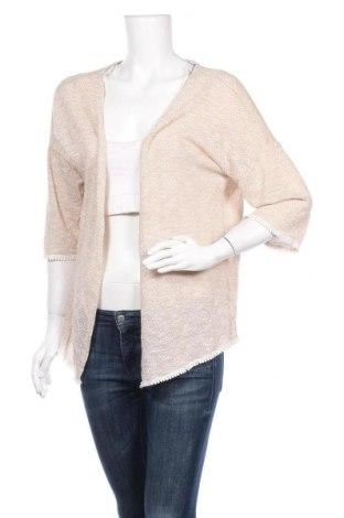Γυναικεία ζακέτα Streetwear Society, Μέγεθος L, Χρώμα  Μπέζ, 74% πολυεστέρας, 26% βαμβάκι, Τιμή 5,00€