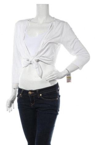 Γυναικεία ζακέτα Style & Co, Μέγεθος M, Χρώμα Λευκό, 95% βισκόζη, 5% ελαστάνη, Τιμή 3,90€