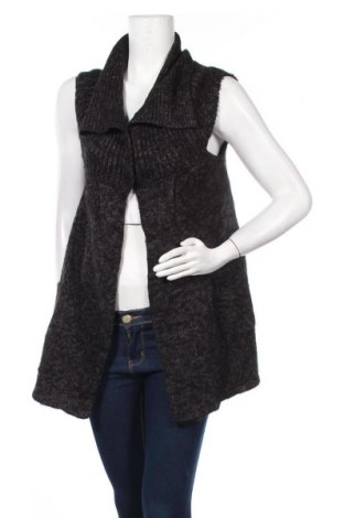 Γυναικεία ζακέτα Suzy Shier, Μέγεθος M, Χρώμα Μαύρο, Ακρυλικό, Τιμή 5,68€