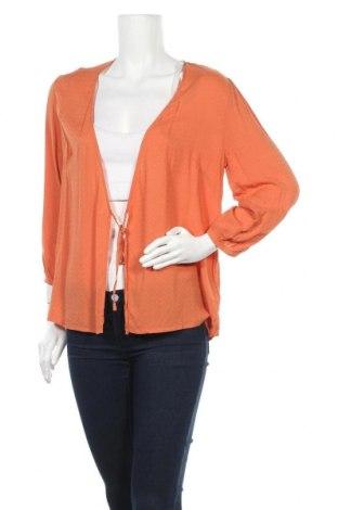 Дамска жилетка Weekday, Размер L, Цвят Оранжев, Вискоза, Цена 31,20лв.
