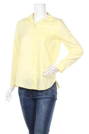 Дамска риза, Размер M, Цвят Жълт, Цена 7,14лв.