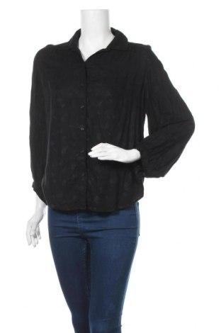 Дамска риза & Other Stories, Размер M, Цвят Черен, 100% полиестер, Цена 10,14лв.