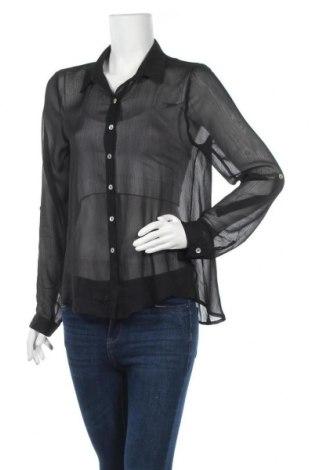 Дамска риза About A Girl, Размер M, Цвят Черен, Полиестер, Цена 9,98лв.