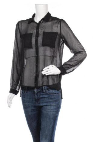 Γυναικείο πουκάμισο Ambiance Apparel, Μέγεθος S, Χρώμα Μαύρο, Πολυεστέρας, Τιμή 4,09€