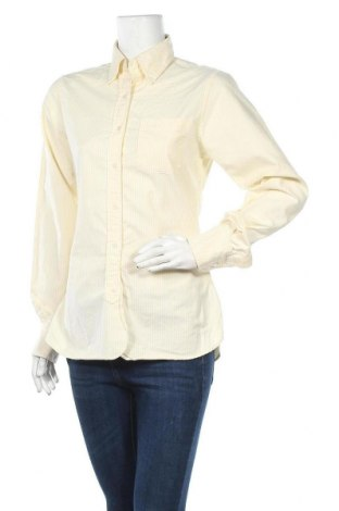 Γυναικείο πουκάμισο Brooks Brothers, Μέγεθος S, Χρώμα Κίτρινο, Βαμβάκι, Τιμή 4,29€