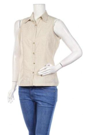 Дамска риза Columbia, Размер S, Цвят Бежов, 80% полиестер, 20% памук, Цена 23,00лв.