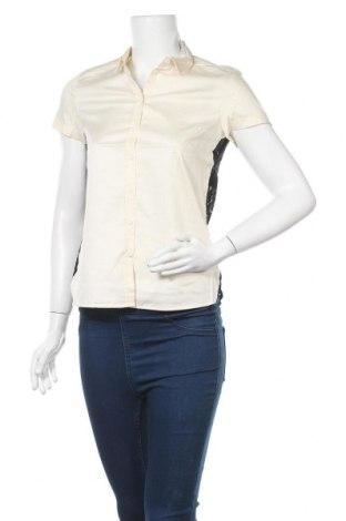 Дамска риза French Connection, Размер XS, Цвят Бежов, Памук, полиамид, Цена 64,97лв.