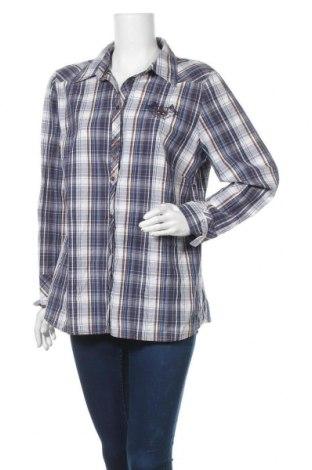 Γυναικείο πουκάμισο G.W., Μέγεθος XL, Χρώμα Πολύχρωμο, Τιμή 17,66€
