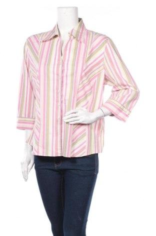 Дамска риза Gerry Weber, Размер XL, Цвят Многоцветен, 74% памук, 22% полиестер, 4% еластан, Цена 7,00лв.