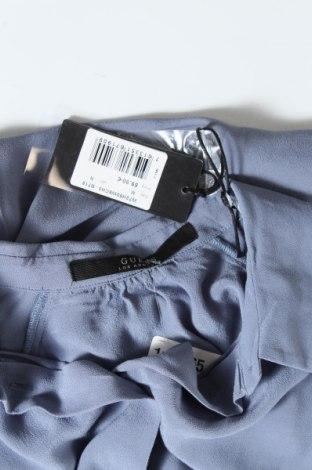Дамска риза Guess, Размер M, Цвят Син, Вискоза, Цена 61,62лв.