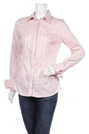 Дамска риза H&M, Размер L, Цвят Розов, 57% памук, 24% полиамид, 15% полиестер, 4% еластан, Цена 4,99лв.
