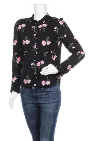 Дамска риза H&M Divided, Размер S, Цвят Черен, Вискоза, Цена 12,97лв.