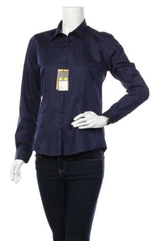 Дамска риза J.Harvest & Frost, Размер M, Цвят Син, 60% памук, 40% полиестер, Цена 11,97лв.