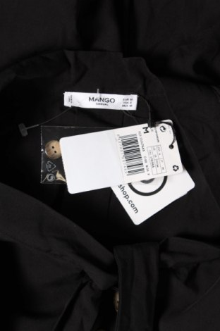Дамска риза Mango, Размер M, Цвят Черен, 73% вискоза, 27% лиосел, Цена 13,00лв.