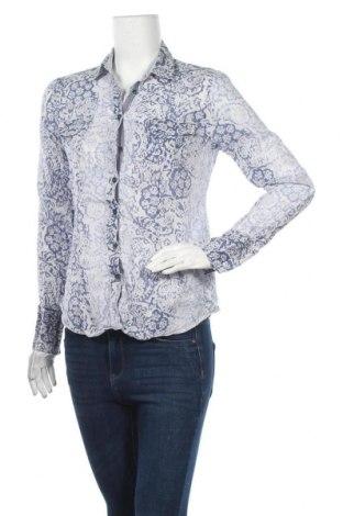 Дамска риза Max Volmary, Размер M, Цвят Син, Памук, Цена 11,34лв.