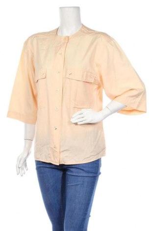 Γυναικείο πουκάμισο Otto Kern, Μέγεθος M, Χρώμα Πορτοκαλί, 53% μετάξι, 47% βαμβάκι, Τιμή 13,18€