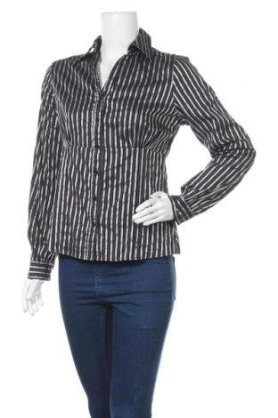 Γυναικείο πουκάμισο Peppercorn, Μέγεθος M, Χρώμα Μαύρο, 55% πολυαμίδη, 40% βαμβάκι, 5% ελαστάνη, Τιμή 8,28€