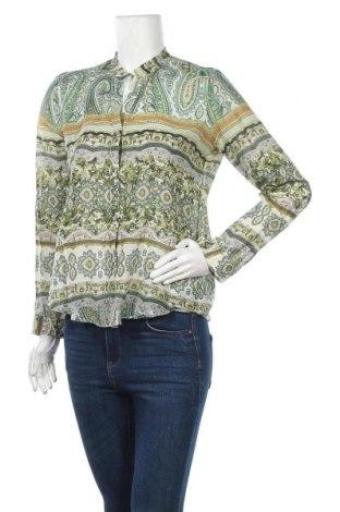 Дамска риза Sand, Размер S, Цвят Многоцветен, 76% памук, 24% коприна, Цена 51,87лв.