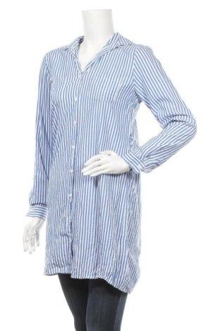 Дамска риза Sisters Point, Размер S, Цвят Син, Памук, Цена 15,70лв.
