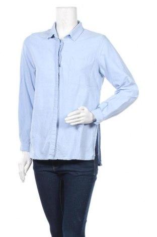 Γυναικείο πουκάμισο Tiffosi, Μέγεθος M, Χρώμα Μπλέ, 100% βαμβάκι, Τιμή 8,77€