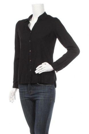 Дамска риза Vero Moda, Размер S, Цвят Черен, Вискоза, Цена 5,51лв.