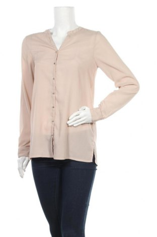 Дамска риза Vero Moda, Размер S, Цвят Бежов, Полиестер, Цена 10,32лв.