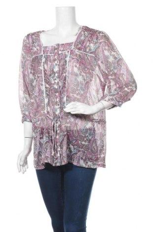 Дамска риза Yessica, Размер XL, Цвят Многоцветен, Полиестер, Цена 4,73лв.