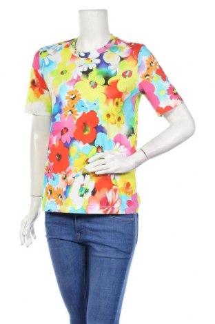 Γυναικείο t-shirt Love Moschino, Μέγεθος S, Χρώμα Πολύχρωμο, Βαμβάκι, Τιμή 57,60€