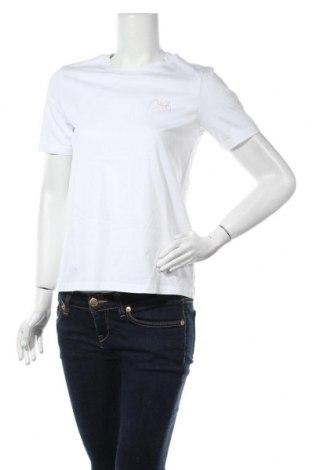 Γυναικείο t-shirt Pieces, Μέγεθος XS, Χρώμα Λευκό, Βαμβάκι, Τιμή 6,43€
