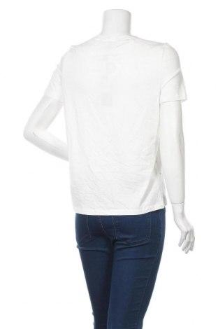 Дамска тениска Vero Moda, Размер S, Цвят Бял, 48% модал, 48% памук, 4% еластан, Цена 22,62лв.