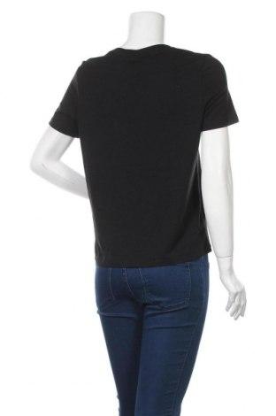 Дамска тениска Vero Moda, Размер S, Цвят Черен, 48% модал, 48% памук, 4% еластан, Цена 23,20лв.
