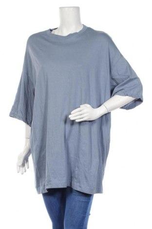Дамска тениска Weekday, Размер S, Цвят Син, 100% памук, Цена 21,84лв.