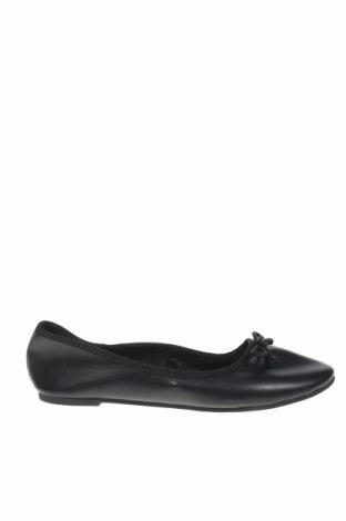 Γυναικεία παπούτσια H&M, Μέγεθος 36, Χρώμα Μαύρο, Δερματίνη, Τιμή 9,65€